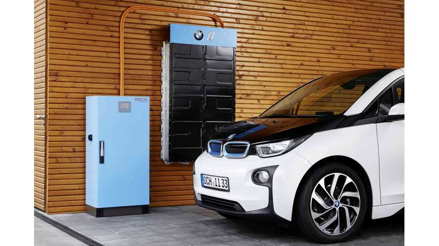 Vattenfall Will Purchase Up To 1,000 BMW i3 Batteries For Energy Storage Projects