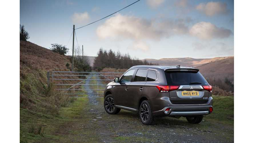 Mitsubishi Boss Outraged Over London's New Tax That Rates The Outlander PHV Like A Range Rover