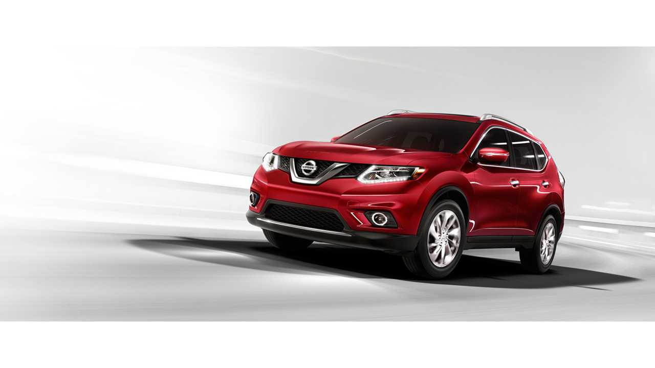 Nissan Rogue Next Candidate For Electrification?