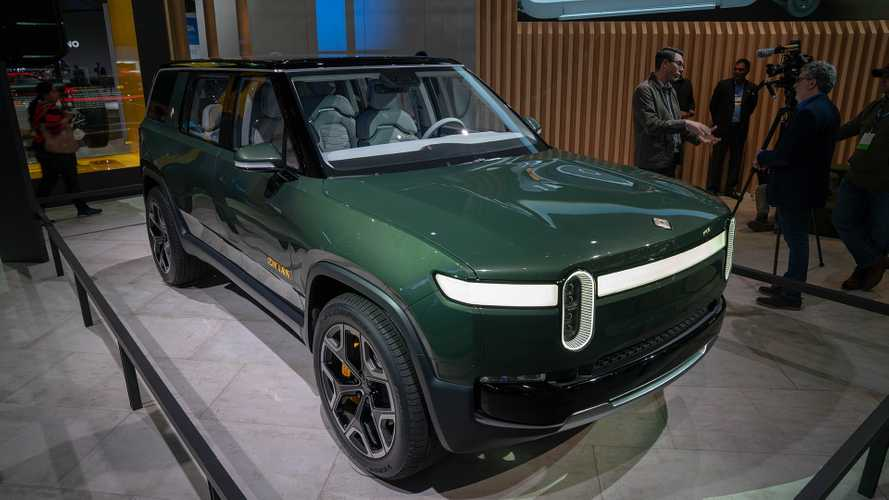 Watch Rivian R1S SUV & R1T Truck Roll Down The Streets Of Aspen