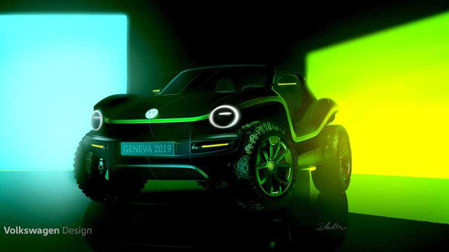 VW Teases Classic Beach Buggy As Electric Concept
