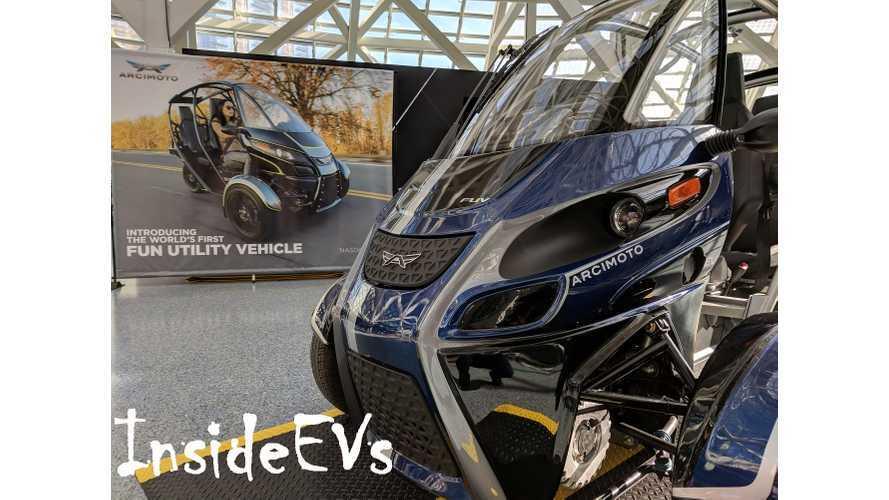 Arcimoto Flaunts Its First FUV At The LA Auto Show