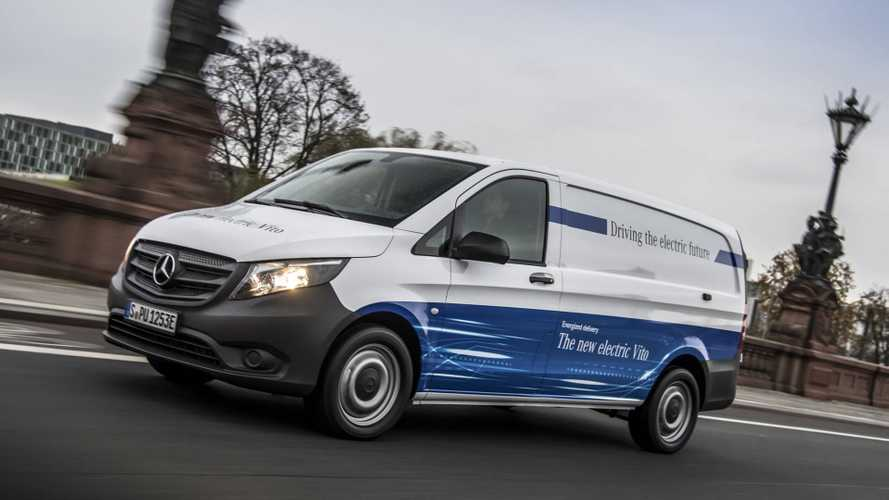 Mercedes eVito On Sale Now, eSprinter To Launch In 2019
