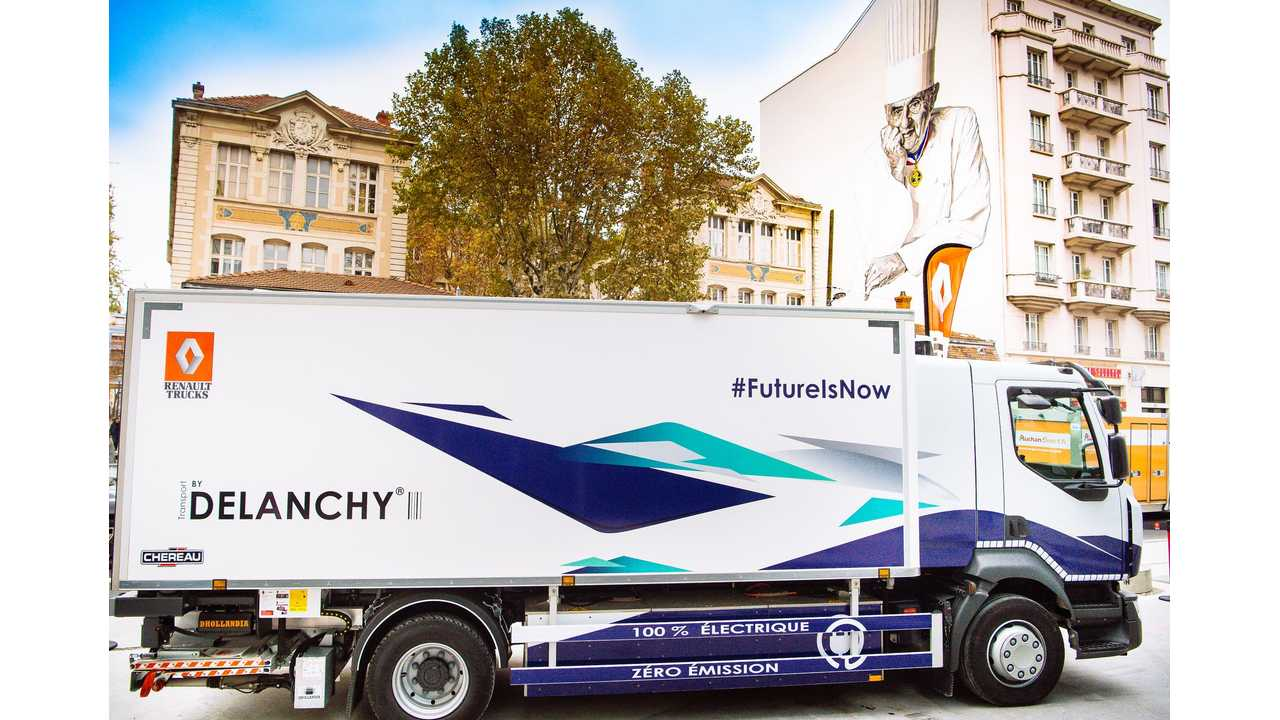 Renault Teams With Delanchy For Refrigerated Electric Truck