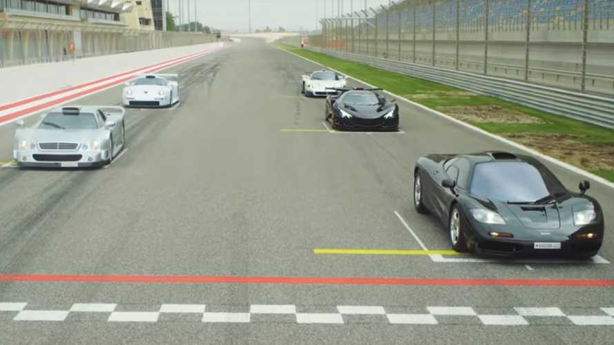Apollo IE joins McLaren F1, CLK GTR, Porsche GT1 on track