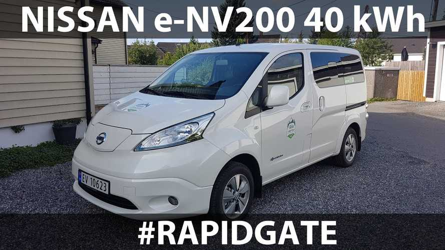 Bjørn Attempts Rapidgate Run In Nissan e-NV200