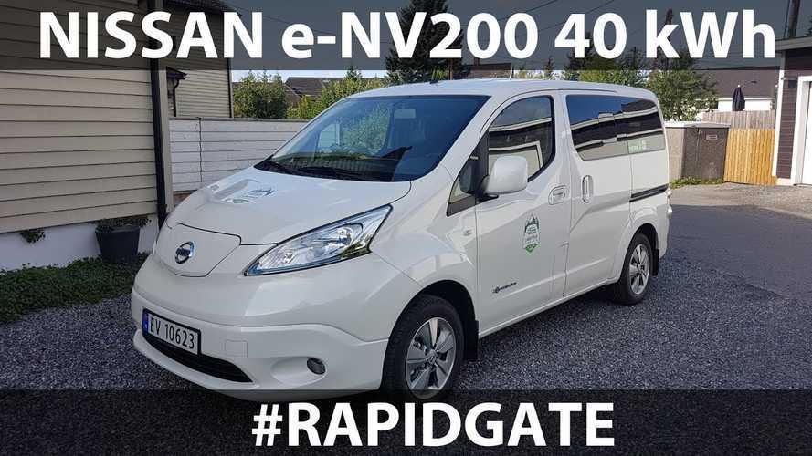 Bjørn Attempts Rapidgate Run In Nissan e-NV200