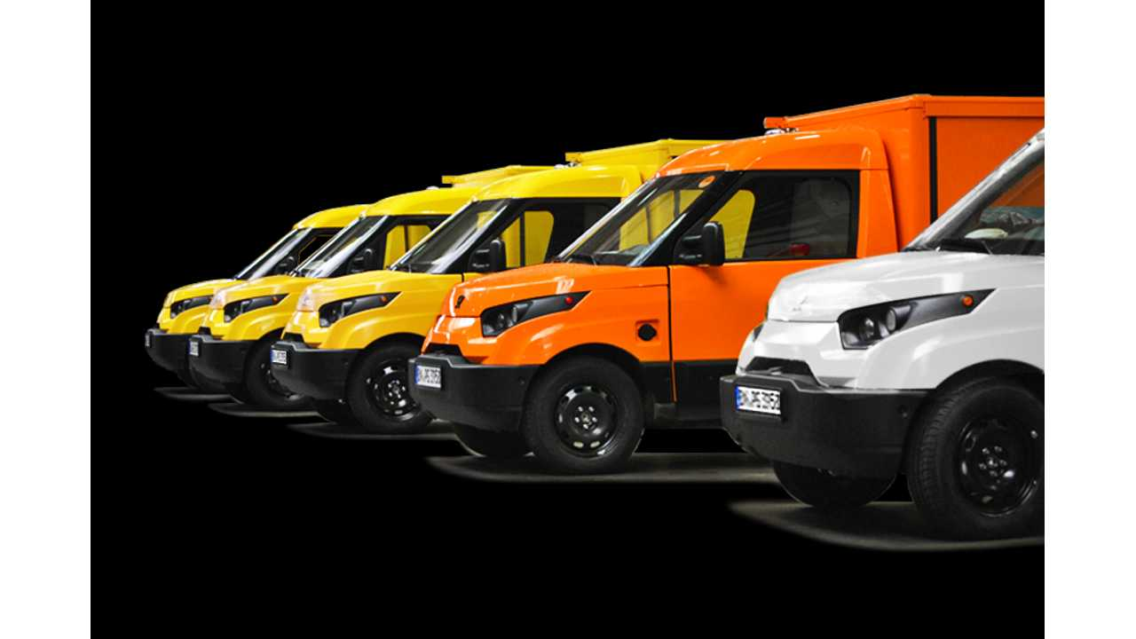 In July Deutsche Post DHL Sold The Most Electric Cars In Germany