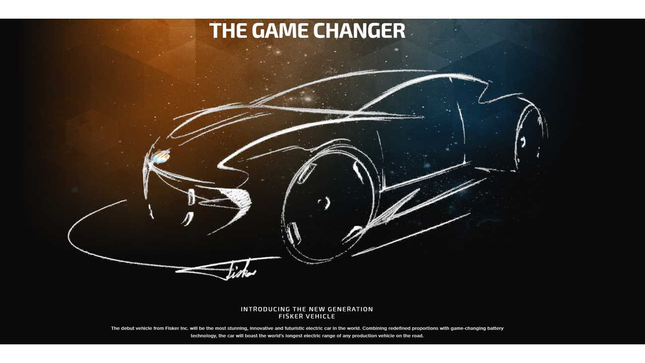 fisker inc ev 2017 game changer