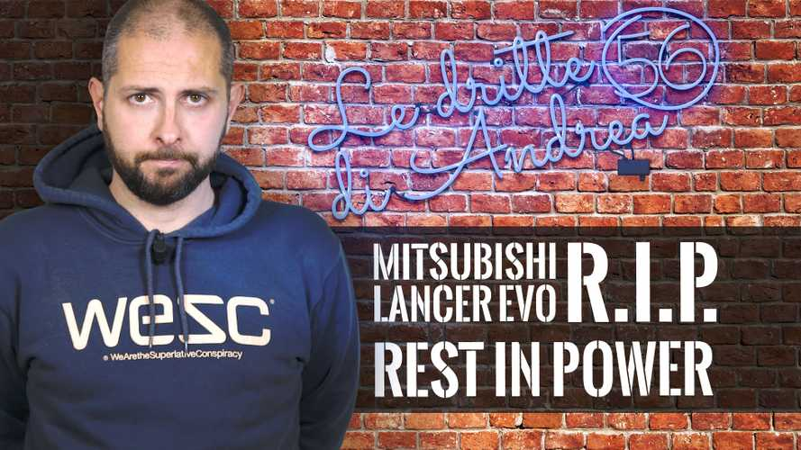 Addio Mitsubishi Lancer EVO: R.I.P. (Rest In Power)
