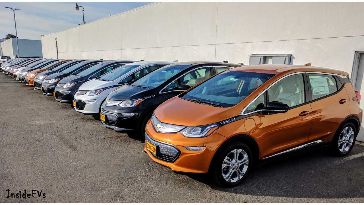 General Motors Comments On Bolt Inventory - Only 6 Per Certified Dealership Nationwide