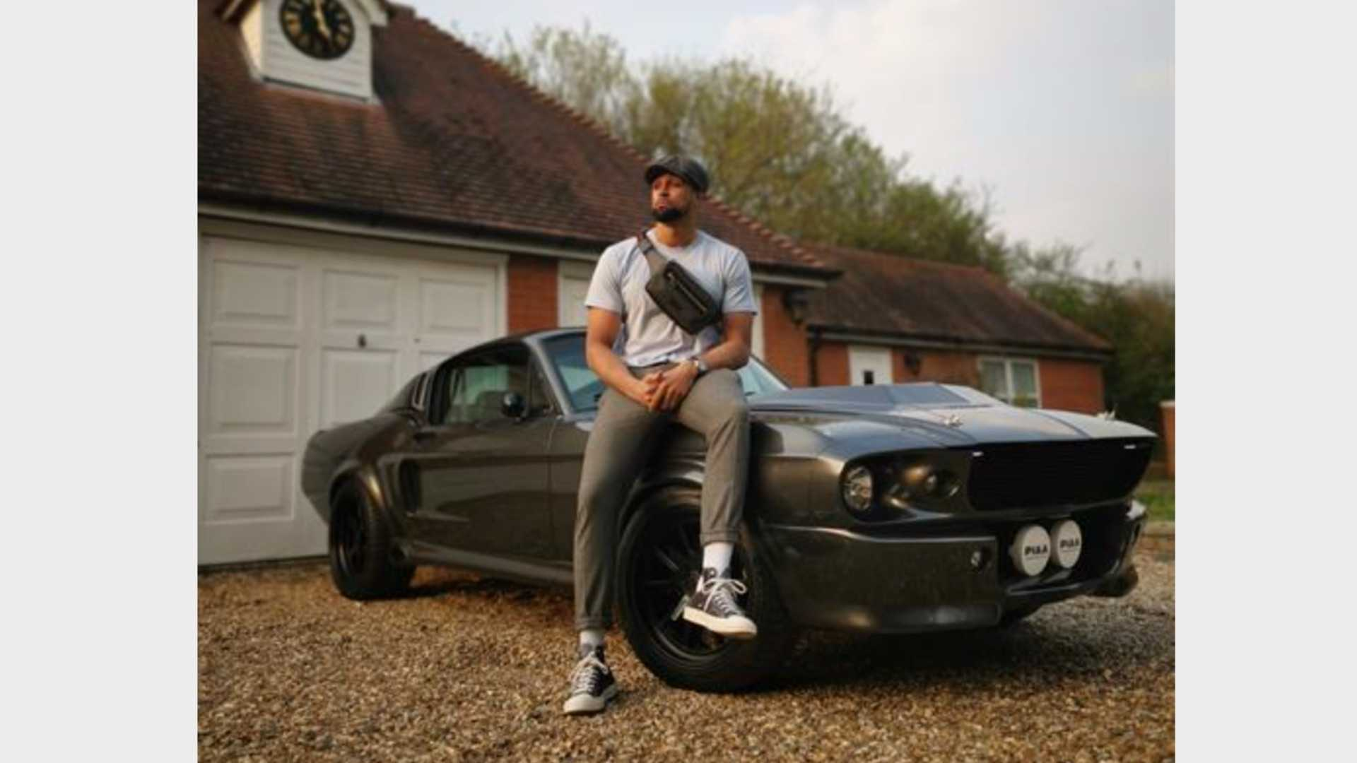"""[""""Ashley Banjo Takes Delivery Of Eleanor GT500CS""""]"""