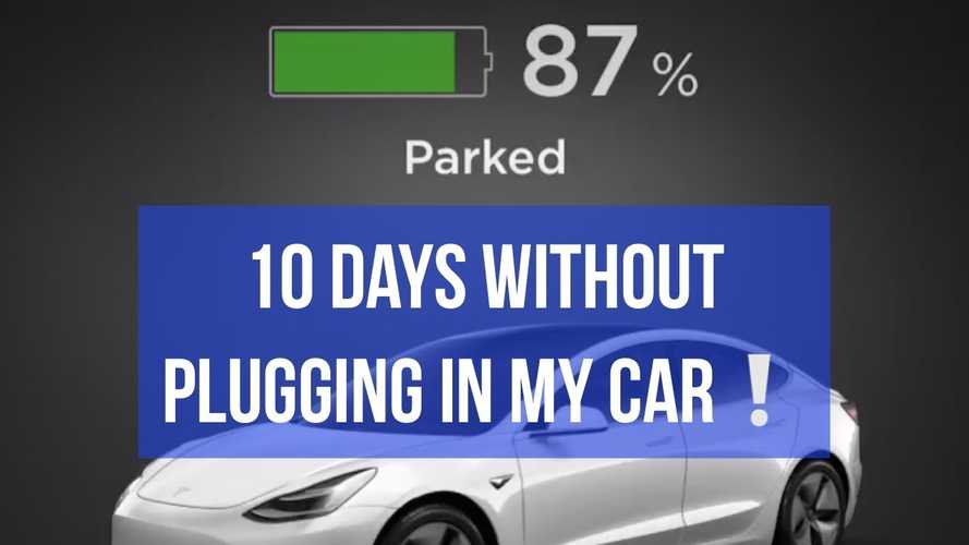 Tesla Model 3 Battery Drain While Parked In Cold For 10 Days: Video