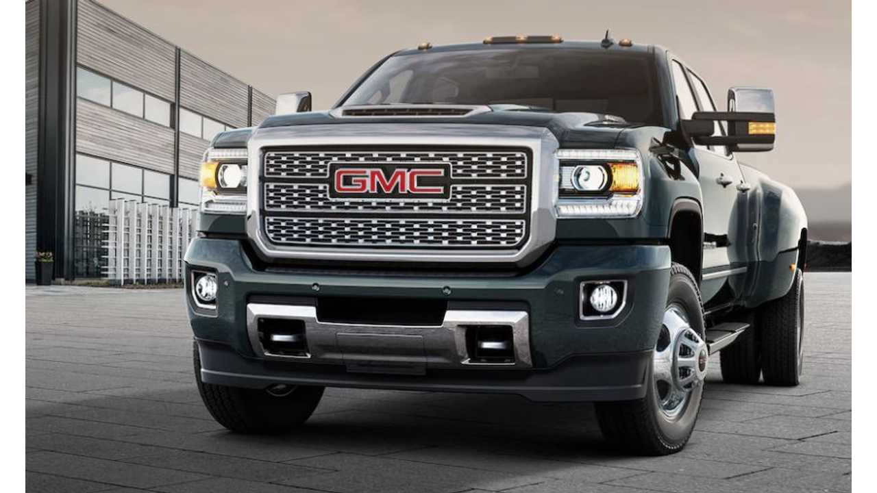 How Big Diesel Trucks Are Paying For GM's Electric Future