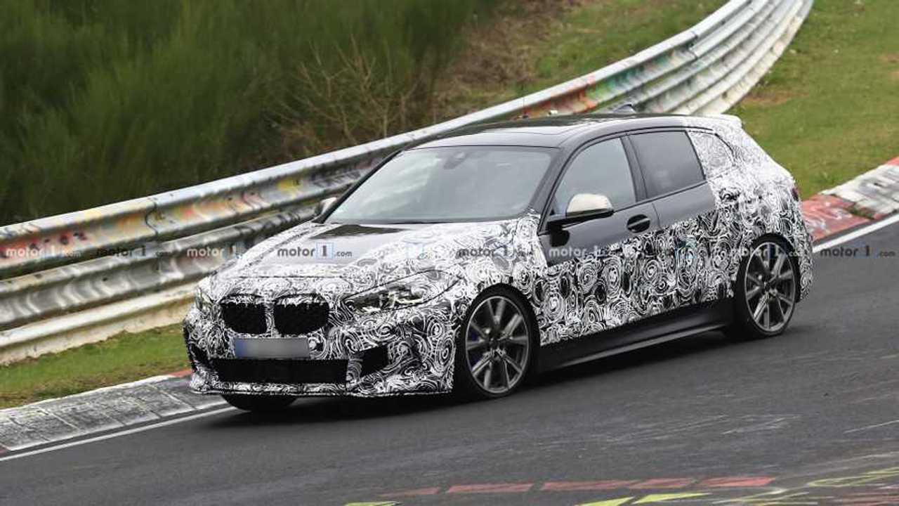 Photo espion BMW 135i 2020
