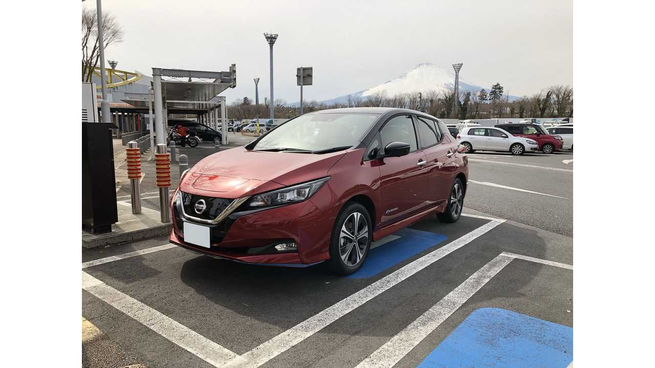 Nissan LEAF Sales In Japan Decreased For 4th Consecutive Month