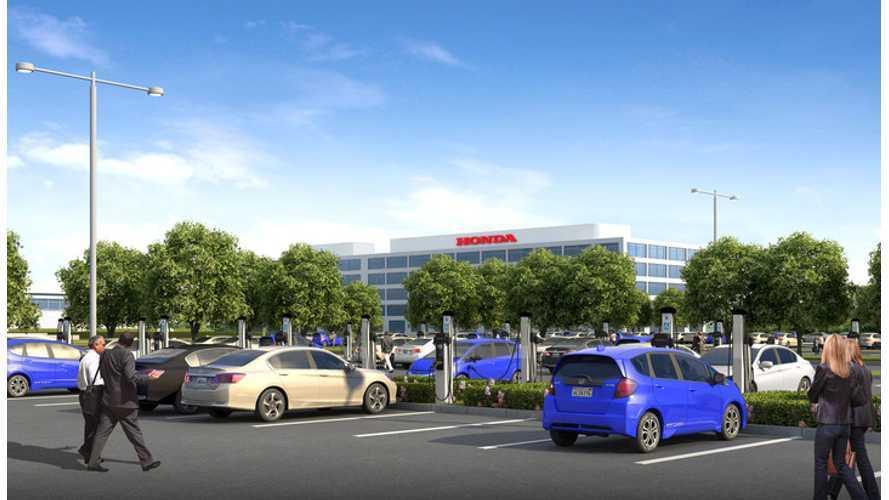 Honda Adding 120 Charging Stations At Torrance Facility
