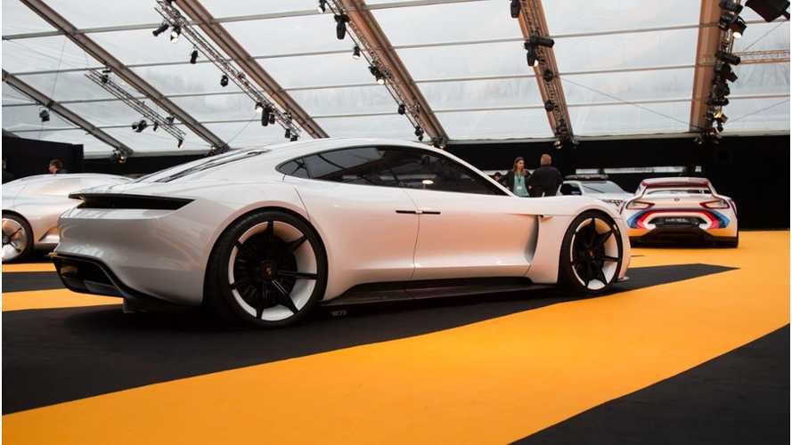 Porsche Mission E - The Most Beautiful Concept Car of the Year