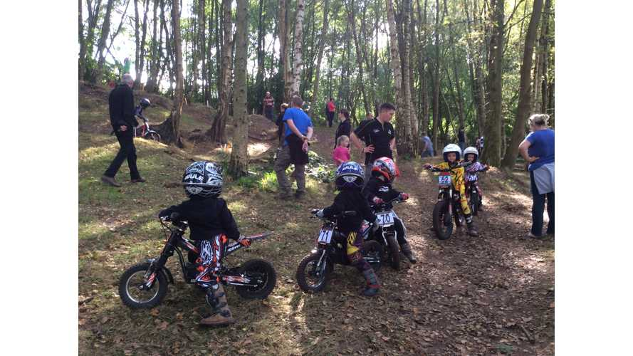 Infront Motorcycles Announces All-Electric Trials: Oset Cheshire Cup Fun-Trial