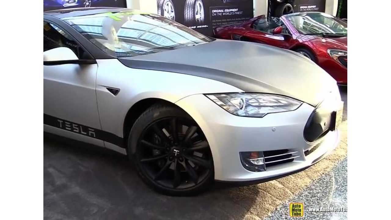 2015 Tesla Model S Customized By T Sportline - LA Auto Show Video