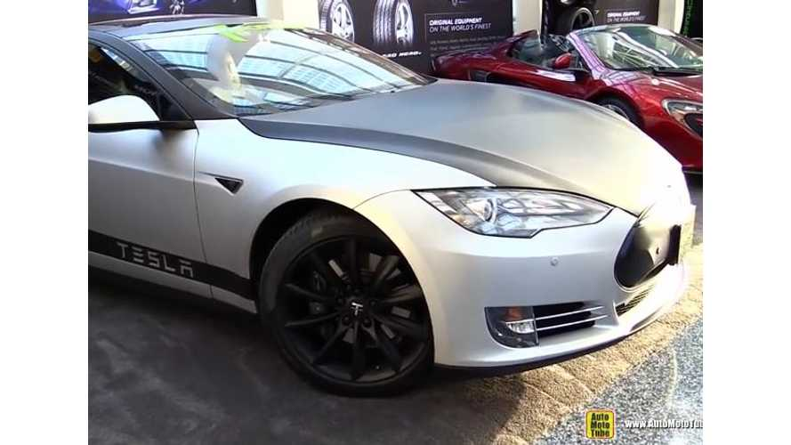 2015 Tesla Model S Customized By T Sportline - LA Auto Show Video