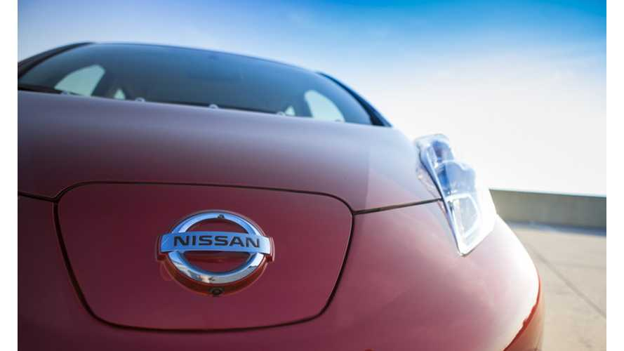 Nissan LEAF Is Nissan's Best-Selling Model*