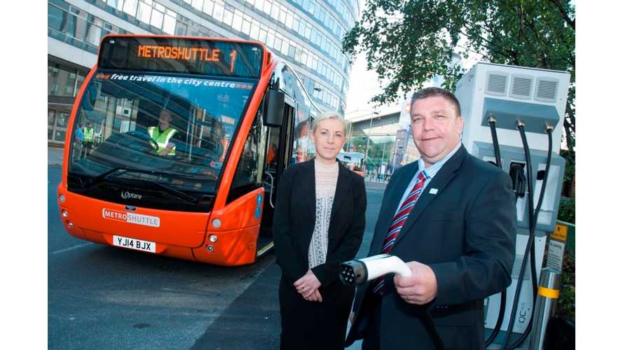 Transport for Greater Manchester Launches Three Electric Buses
