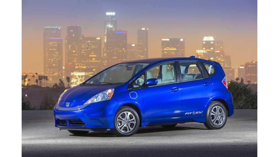 Honda Fit EV Production To End This Fall