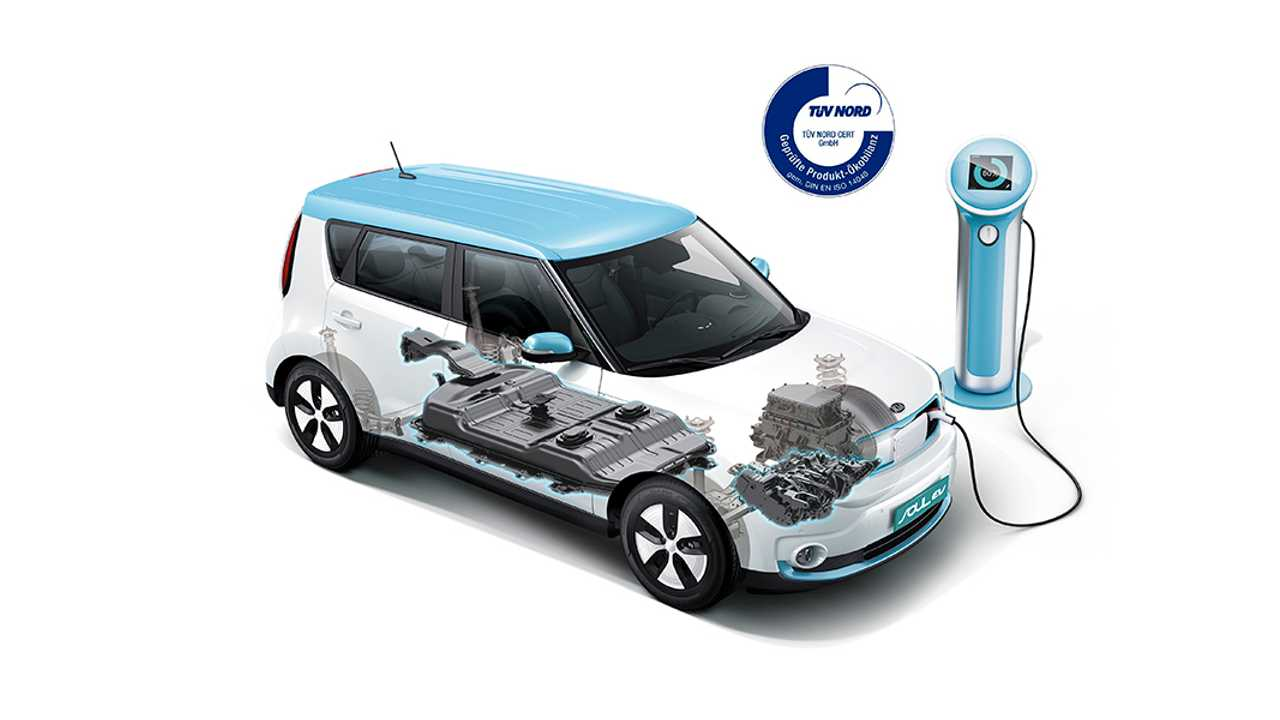 Kia Soul EV Emits 39.7% Fewer Greenhouse Gases Over Lifecycle Than Diesel Soul