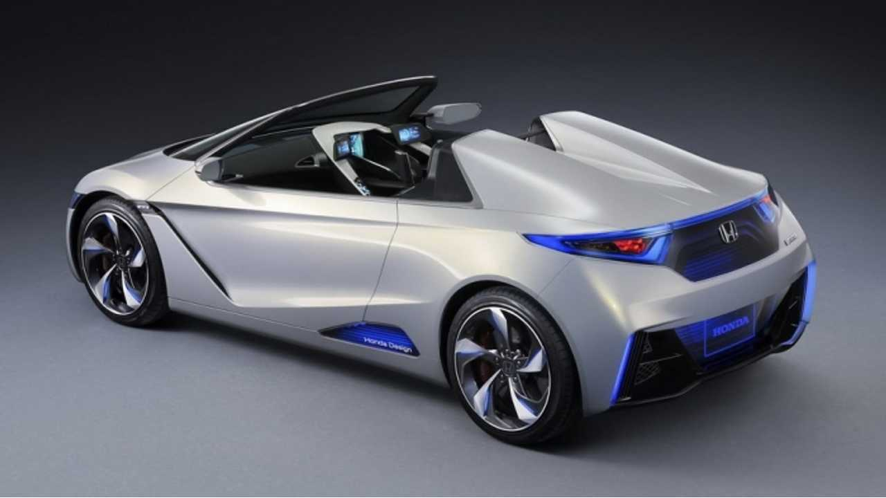 Honda Says It Will Return With Both A PHEV And A BEV In 2017 - But Not The Fit EV (EVSTER Concept shown)