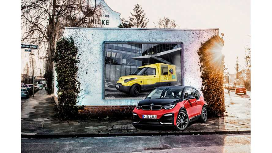 BMW Supplies i3 Battery Modules For Deutsche Post's Streetscooters