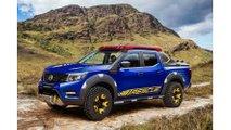 Nissan Reveals Frontier Sentinel Truck That Packs LEAF Batteries