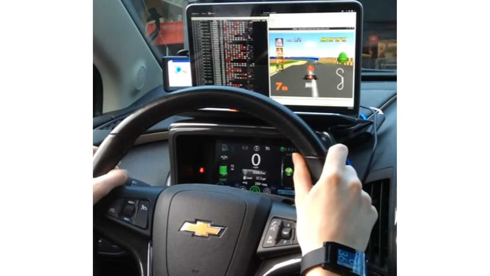 Chevrolet Volt Hacked To Allow Steering Wheel To Control