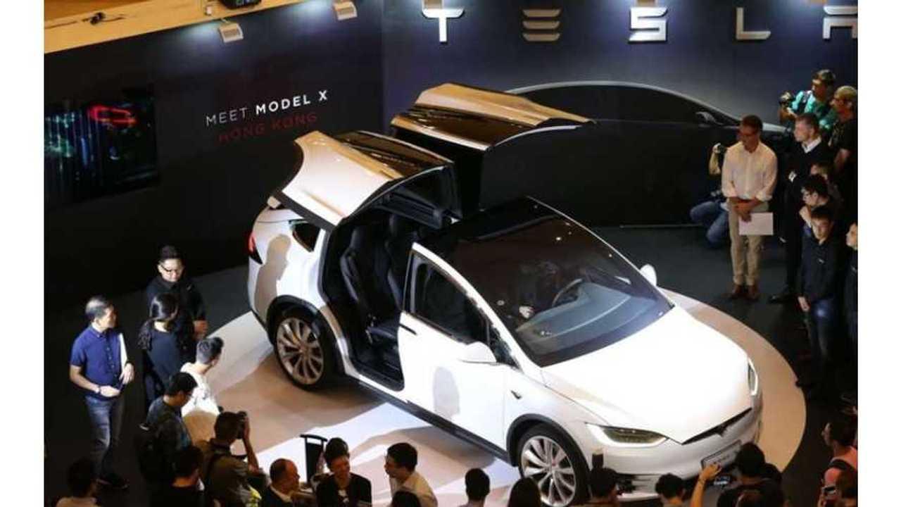 Tesla Model X To Go On Sale In Taiwan