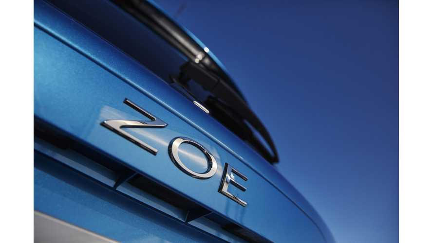 Renault ZOE Could Be Sold In South Korea From 2019