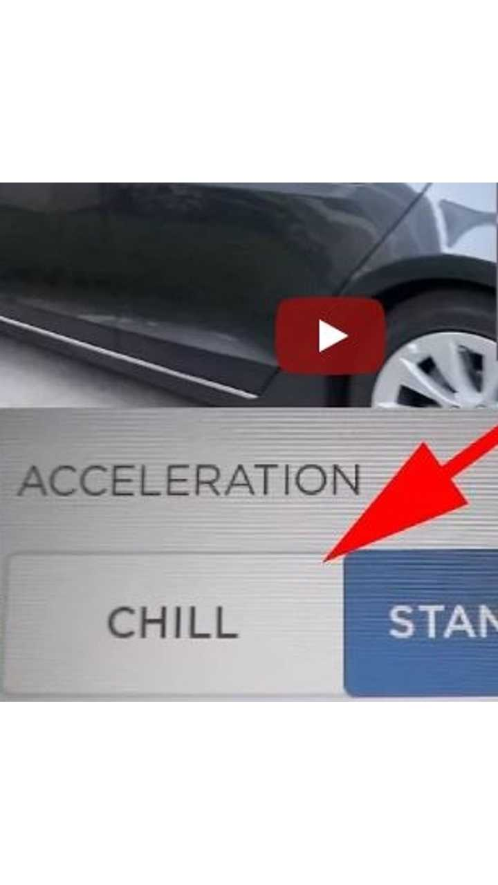 New Chill Mode Makes Tesla Model S 100D Slow - Video