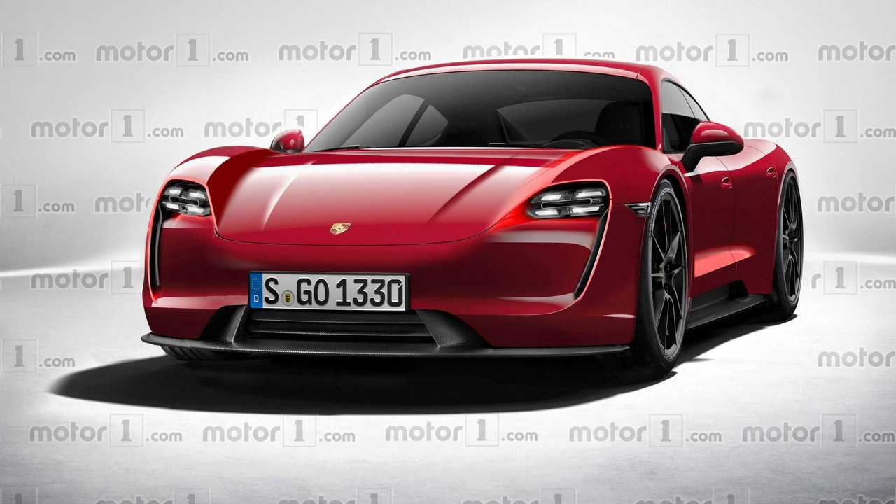 Porsche Mission E Rendered In Production Form