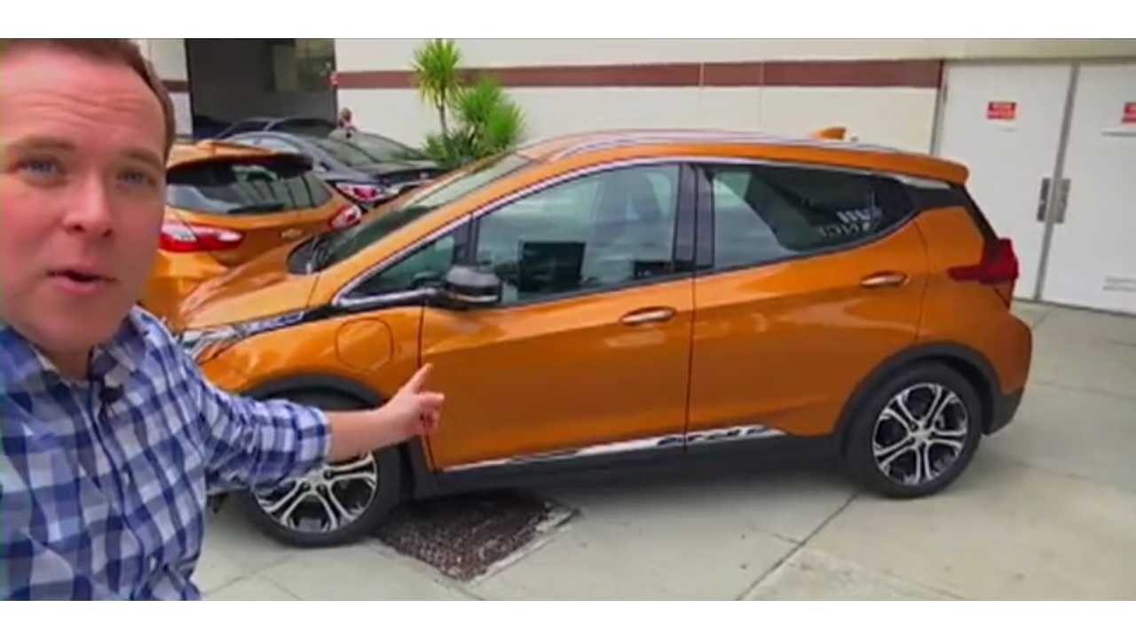 Chevrolet Bolt Test Drive Review From Kron4 -Video