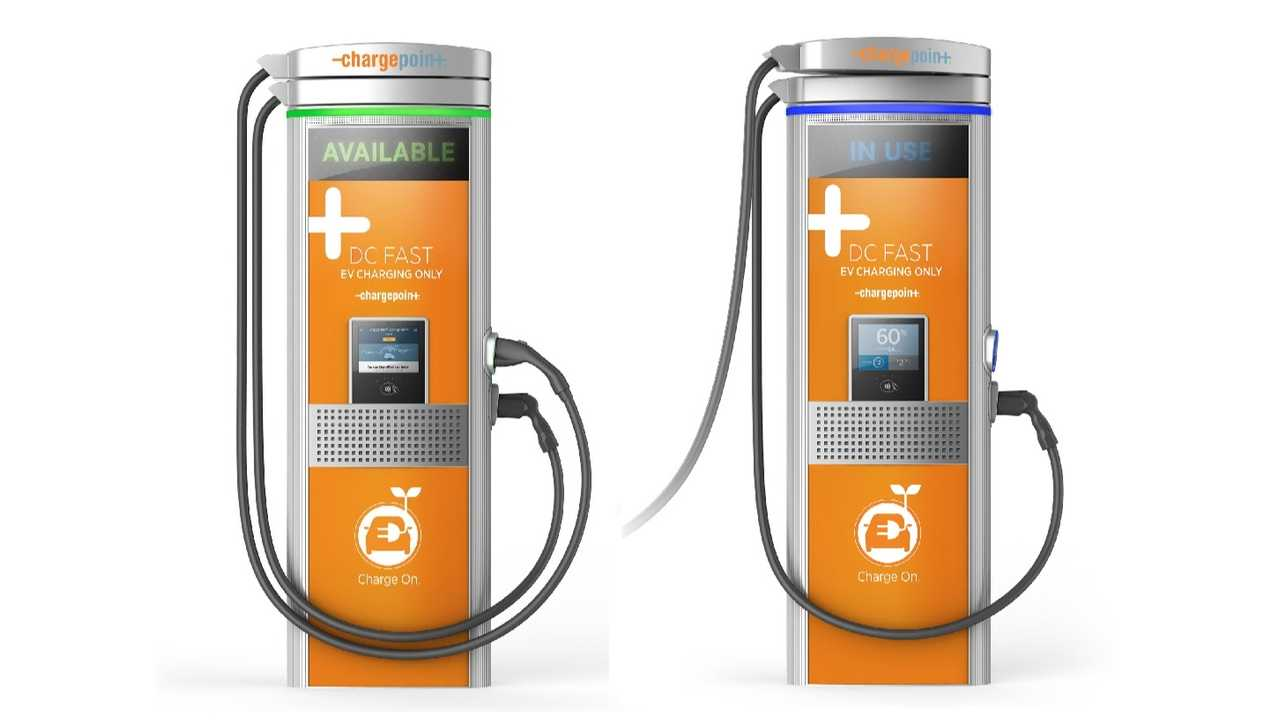 ChargePoint Express Plus (shown in