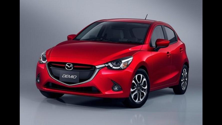 Mazda2 começa a ser feito no México com chances de chegar ao Brasil