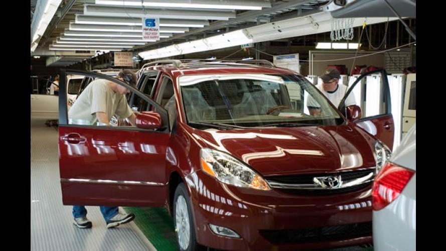 Cenário difícil afeta produção da Toyota