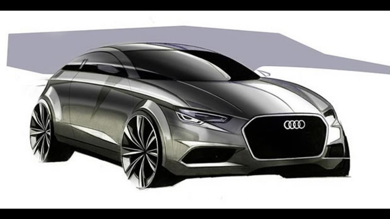 Audi divulga esboços do novo A3
