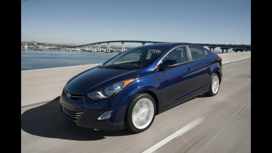 Hyundai Elantra supera marca de 216.000 unidades vendidas na América do Norte