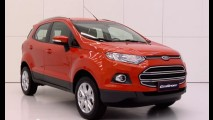 VÍDEO HD: Todos os detalhes do Novo Ford EcoSport 2013 (inclusive acabamento interno)