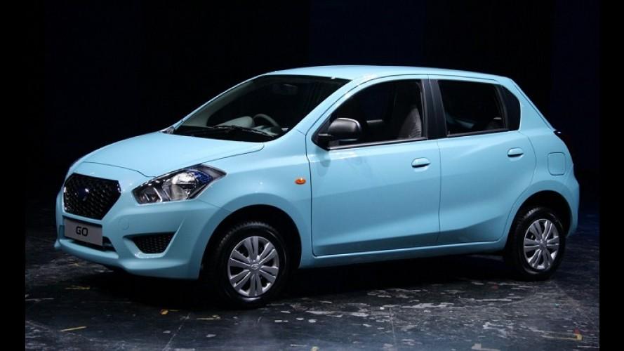 Cotado para o Brasil, Datsun Go, primo pobre do March, vai mal nas vendas