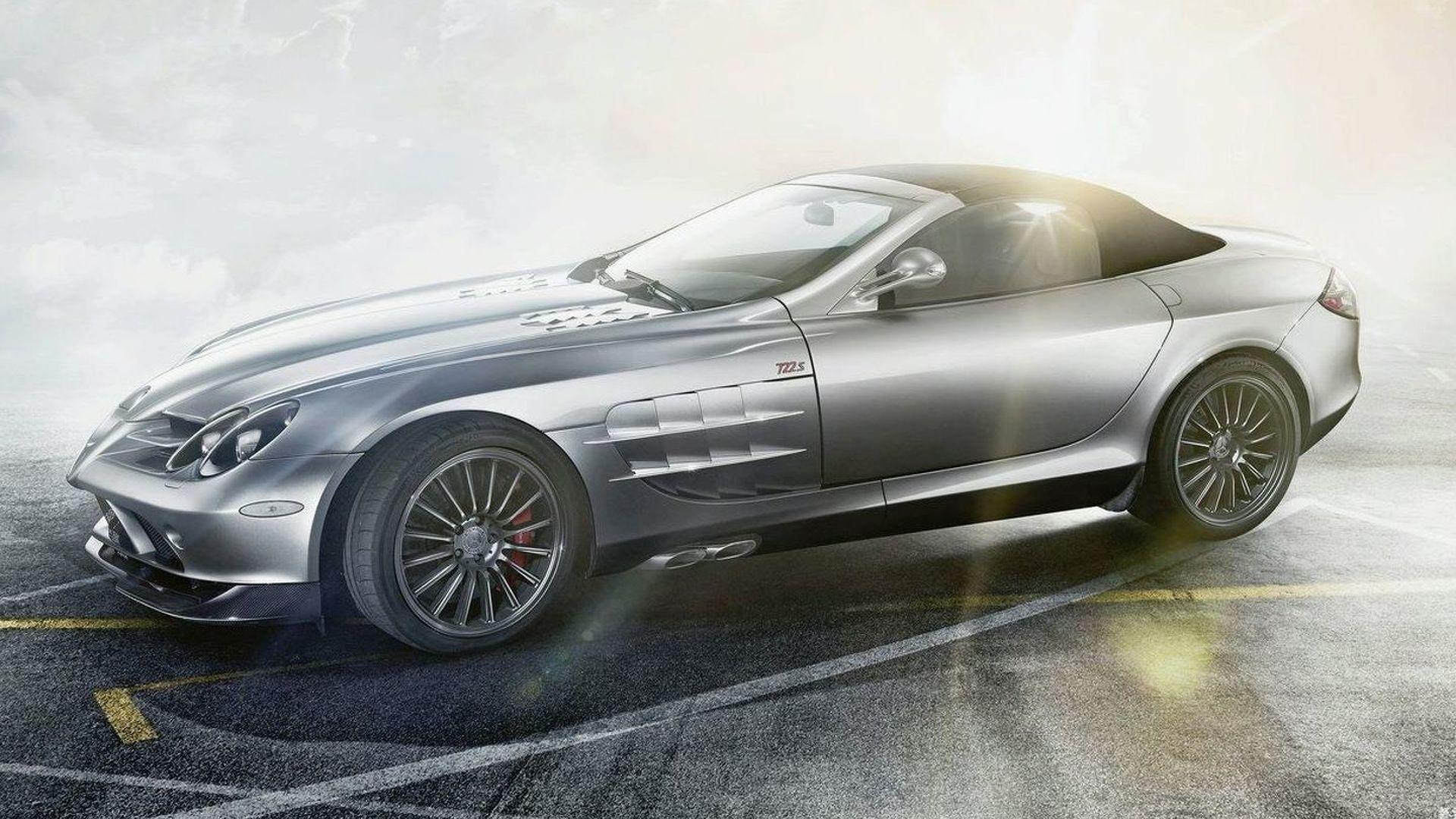 Mercedes Benz Selling Rare Slr Mclaren 722 S Roadster For 1 45m