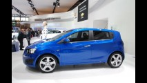 Fotos: Novo Chevrolet Aveo no Salão de Paris