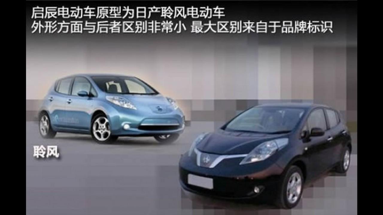 Nissan Leaf será vendido através da sub-marca Venucia na China