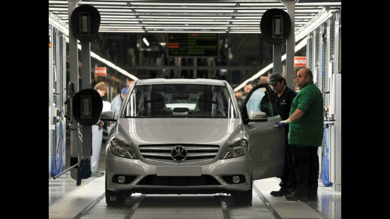 Metas ousadas: Mercedes quer fabricar carros em 30 horas e aumentar produção global