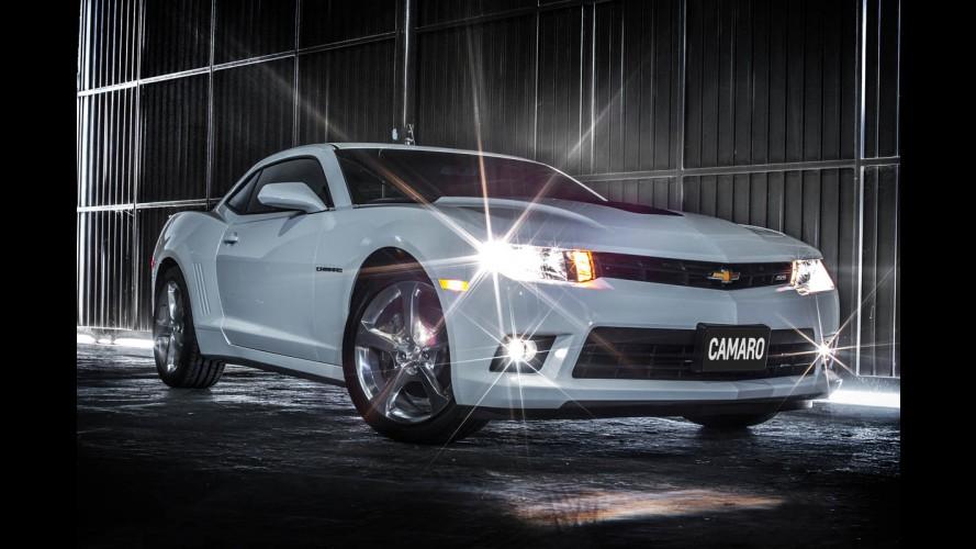 Chevrolet Camaro 2014 chega reestilizado por R$ 210 mil